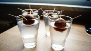 Avocado Kern im Glas